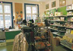 inngangsdør til butikk
