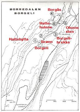 fredrikstadmarka kart Hattehytta   Speiderhistorisk leksikon fredrikstadmarka kart