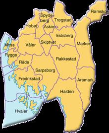 er oslo et fylke Fredrikstad